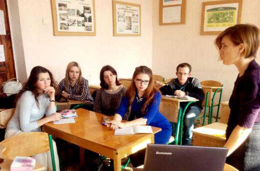 Третье заседание Студенческого научного общества