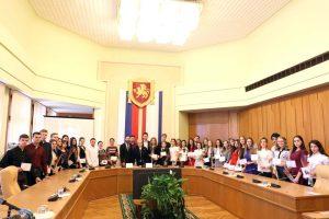 Cтуденты КФУ были награждены дипломами на получение именных стипендий Государственного совета